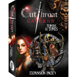 CUTTHROAT CAVERNS: TOMBS & TOMES (INGLES)