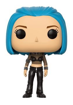 FIGURA POP ALIAS: SYDNEY BLUE HAIR