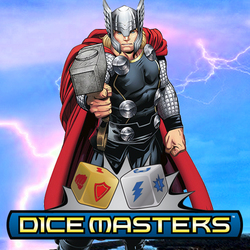 MARVEL DICE MASTERS · MIGHTY THOR DRAFT PACK
