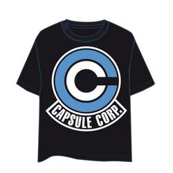 CAMISETA DRAGON BALL CAPSULE CORP LOGO XXL