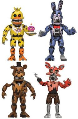 PACK FIGURAS FIVE NIGHTS NIGHTMARE