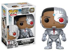 JUSTICE LEAGUE POP! MOVIES VINYL FIGURE CYBORG 9 CM