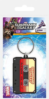 GUARDIANS OF THE GALAXY RUBBER KEYCHAIN AWESOME MIX 6 CM