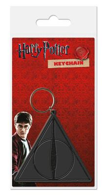 LLAVERO GOMA HARRY POTTER HALLOWS