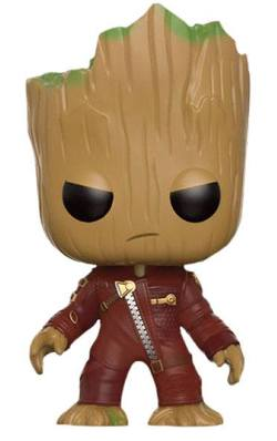 FIGURA POP GOTG: YOUNG GROOT ANGRY IN SUIT