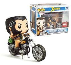 FIGURA POP MARVEL: WOLVERINE ON MOTORCYCLE