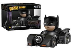 FIGURA DORBZ BATMAN BATMOBILE BLACK