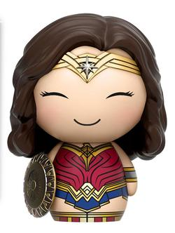 FIGURA DORBZ WONDER WOMAN WITH SHIELD