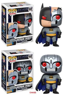 CAJA POP BATMAN ANIMATED S2 BATMAN R CHASE (5+1)