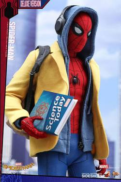 FIGURA HOTTOYS SPIDERMAN DELUXE 28 CM