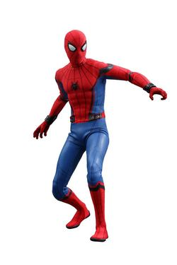 FIGURA HOTTOYS SPIDERMAN MASTER 28 CM