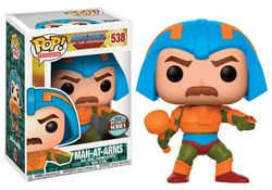 FIGURA POP MASTER OF THE UNIVERSE MAN AT ARMS