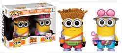 FIGURA POP PACK MINIONS: DAVE AND JERRY