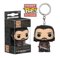 LLAVERO POP GAME OF THRONES JON SNOW *NEW*