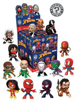 DISPLAY MISTERY MINIS SPIDERMAN MIX V 1 (12)