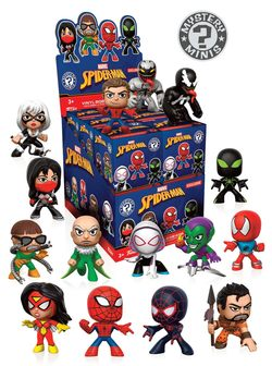 DISPLAY MISTERY MINIS SPIDERMAN MIX V 2 (12)