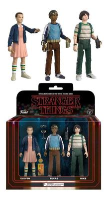 FIGURA PACKS DE 3 STRANGER THINGS SET 1
