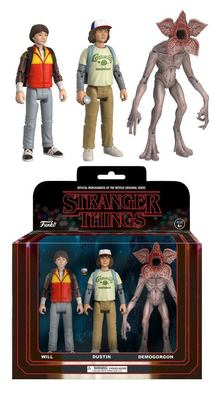 FIGURA PACKS DE 3 STRANGER THINGS SET 2