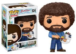 FIGURA POP JOY OF PAINTING: BOB ROSS
