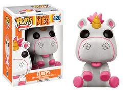 FIGURA POP MINIONS 3: FLUFFY FLOCKED
