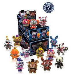 DISPLAY MYSTERY MINIS FIVE NIGHTS VOL 2 (12)