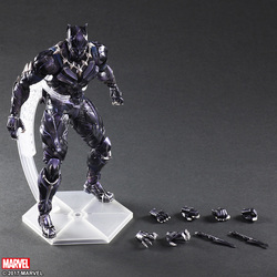 FIGURA BLACK PANTHER PLAY ARTS 25 CM