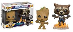 FIGURA PACK POP GOTG YOUNG GROOT + ROCKET