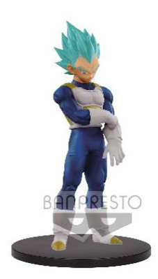 FIGURA BANPRESTO DRAGON BALL VEGETA BLUE 18 CM