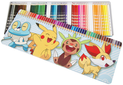 CAJA DE 50 COLORINES COLE POKEMON