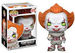 IT POP! MOVIES VINYL FIGURE PENNYWISE (WITH BOAT) 9 CM (6)