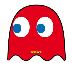 PAC MAN - MOUSEPAD - GHOST - IN SHAPE