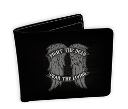 CARTERA THE WALKING DEAD DARYL WINGS