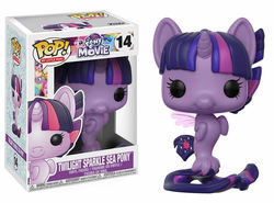 FIGURA POP MY LITTLE PONY: TWILIGHT SPARKLE SEA