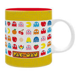 TAZA PAC MAN PIXEL GHOSTS