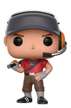 FIGURA POP TEAM FORTRESS 2 SCOUT
