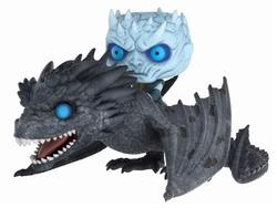 GAME OF THRONES POP! RIDES VINYL FIGURE NIGHT KING & VISERION 15