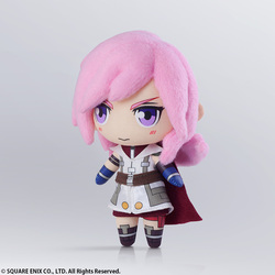 PELUCHE FINAL FANTASY XIII MINI LIGHTNING 15 CM