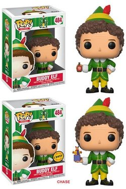 CAJA POP BUDDY THE ELF: BUDDY ELF CHASE 5+1