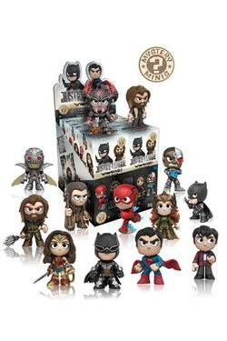 JUSTICE LEAGUE MOVIE MYSTERY MINI FIGURES 6 CM DISPLAY (12)