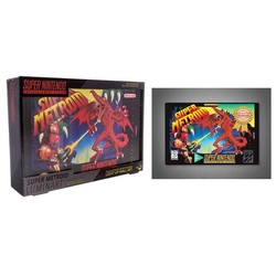 LUMINART NINTENDO SUPER METROID 31 X 22