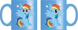 TAZA MY LITTLE PONY AZUL