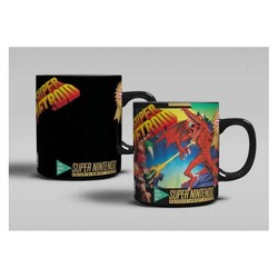 SUPER METROID HEAT MUG