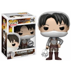 POP FIGURE ATTACK ON TITAN: CLEANING LEVI