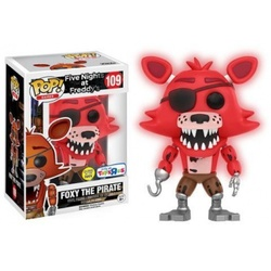 FIGURA POP FIVE NIGHTS: FOXY RED GITD