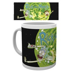 MUG RICK & MORTY LOGO