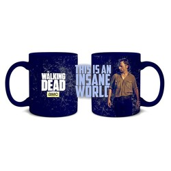 MUG WALKING DEAD INSANE WORLD