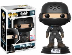 FIGURA POP STAR WARS ROGUE ONE: JYN DISGUISE NYCC