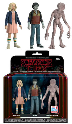 FUNKO  STRANGER THINGS: PACK 3 FIGURAS NYCC