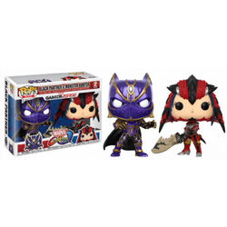 FIGURA POP CAPCOM VS MARVEL: BLACK PANTHER VS MONSTER HUNTER