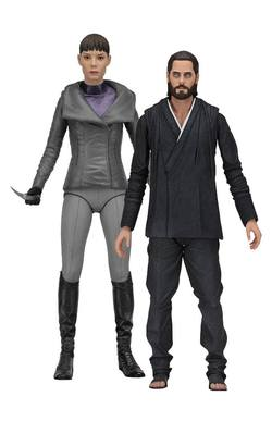 BLADE RUNNER 2049 SERIES 2 - WALLACE & LUV ACTION FIGURES 18CM A